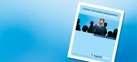 Get a Free Copy of 'Contact Lens Brand Demographics: A Guide to Who Wants Which Brands'